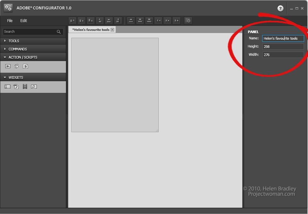adobe configurator photoshop cs4